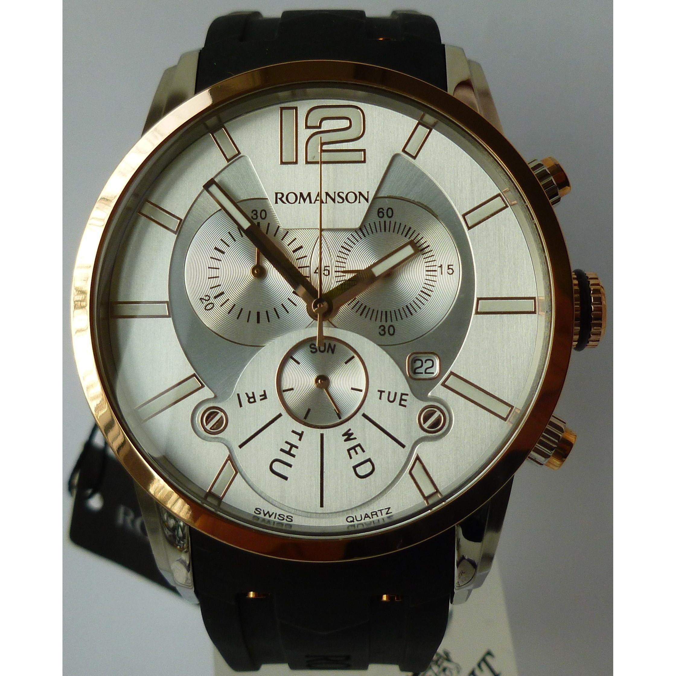 b489ced3 Европейские часы :: Romanson :: Романсон :: Мужские кварцевые часы ...