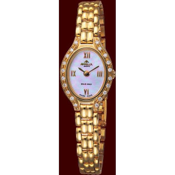 Золотые часы апелла купить купить часы luminor panerai копия